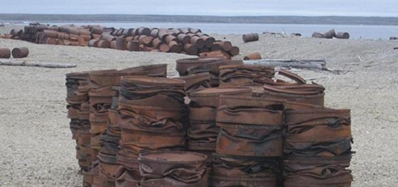 Экологический взвод Северного флота приступил к очистке от металлолома о Котельный