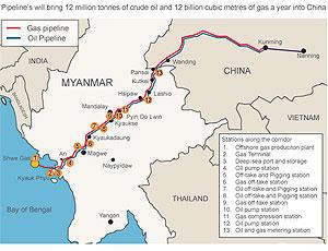 Китай нашёл ещё одну альтернативу Газпрому, начав закупать газ в Мьянме. Но, любопытно другое