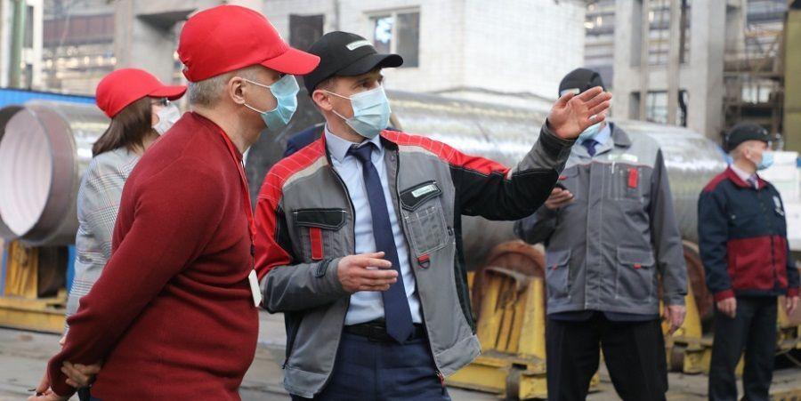 Глава Карелии принял участие в старте производства оборудования для АЭС Сюйдапу на Петрозаводскмаше