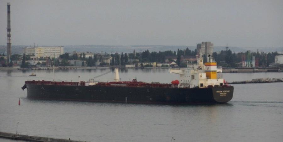 1st batch of U.S. crude oil unloaded in Ukraine's Odessa port