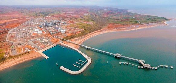 В сложных условиях и с отставанием на год. Chevron запустила СПГ-проект Wheatstone в Австралии