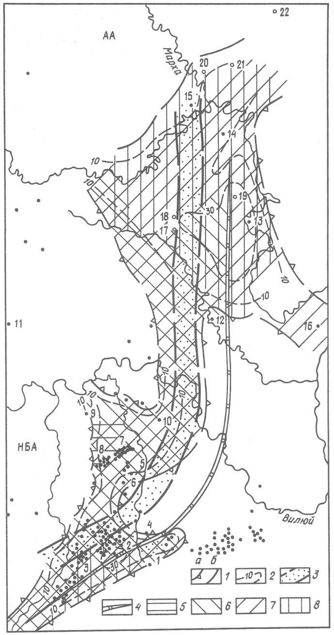 Нефтегазоносность ботуобинского горизонта в зоне сочленения Непско-Ботуобинской и Анабарской антеклиз
