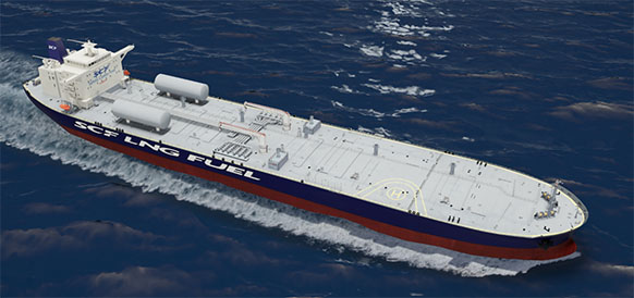 Shell to fuel Russian-built LNG-powered Aframaxes