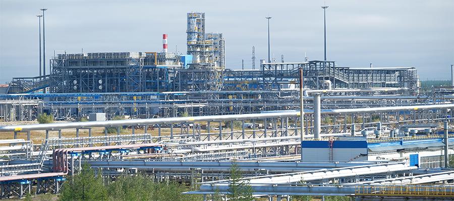 Новоуренгойский ЗПКТ выработал первые 500 млн м3 природного горючего газа