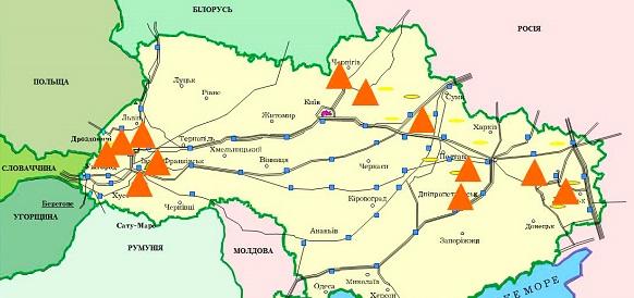 Запасы газа в подземных хранилищах Украины никак не могут дорасти до 10 млрд м3