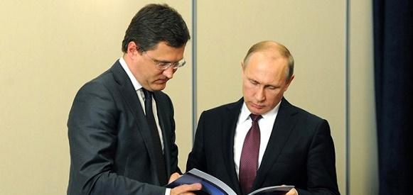 А. Новак: Крым уже получил первые 20 млн м3 газа по газопроводу Кубань - Крым