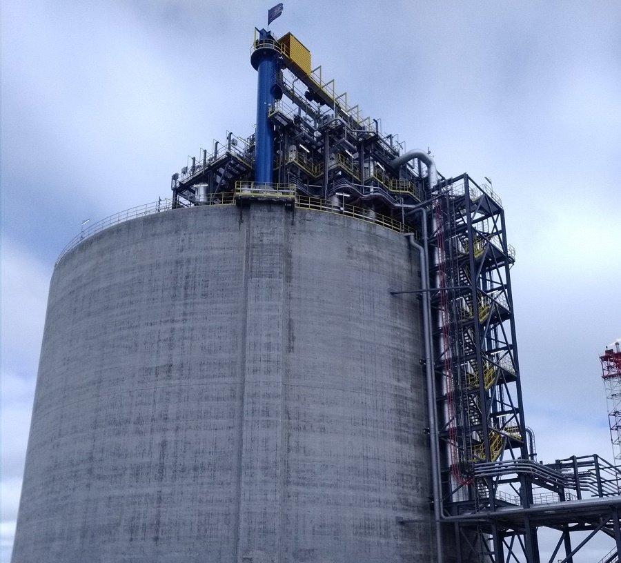Есть результат. ТГЕ Газ Инжиниринг улучшила производственные показатели СПГ Порт Высоцк