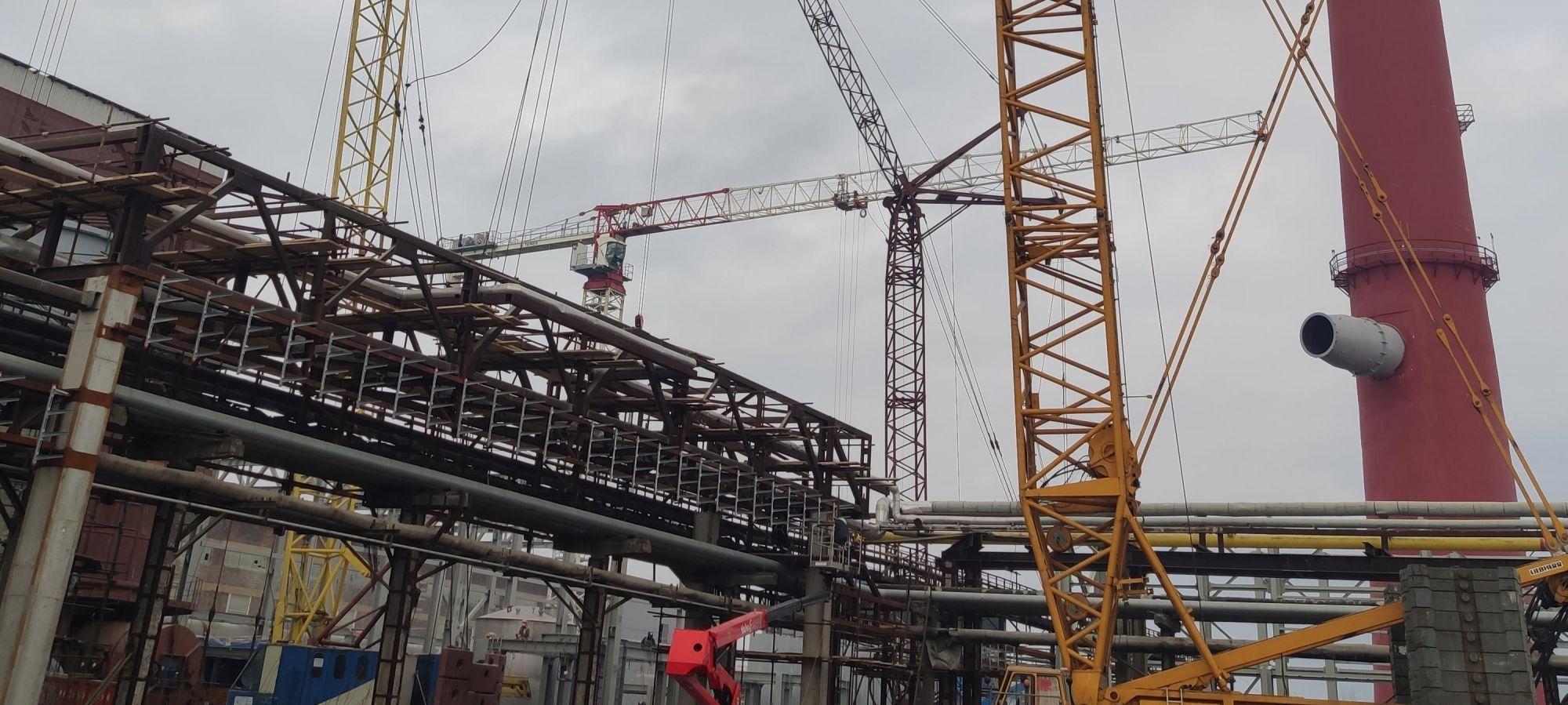 Трест Коксохиммонтаж участвует в модернизации комплекса по производству минеральных удобрений в Волхове