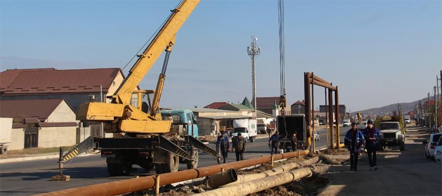 В пос. Ленинкент в республике Дагестан завершена реконструкция газопровода высокого давления