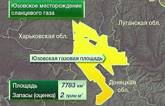 Yuzgas заменит Shell в проекте по добыче сланцевого газа на Юзовском участке недр на востоке Украины
