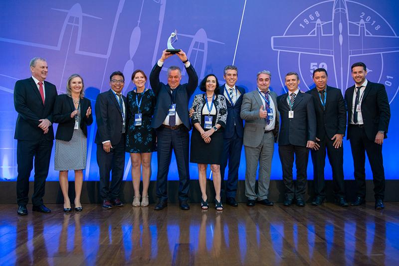 EMBRAER в четвёртый раз признал Корпорацию ВСМПО-АВИСМА лучшим поставщиком года