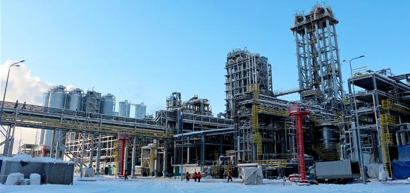 По итогам декабря 2018 г. прогресс строительства ЗапСибНефтехима составил 92,5%
