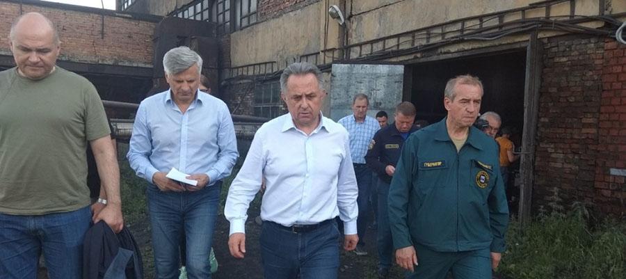 В. Мутко прибыл в Иркутскую область для проверки ликвидации последствий наводнения