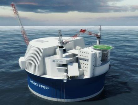 Eni и Statoil начали разработку месторождения Голиаф в Баренцевом море