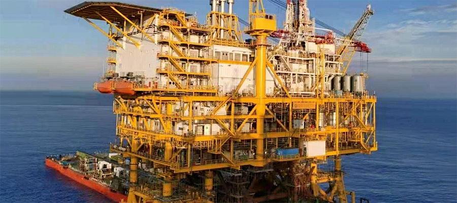 Китай до конца 2021 г. начнет добычу нефти на крупнейшей платформе собственной разработки Луфэн 14-4