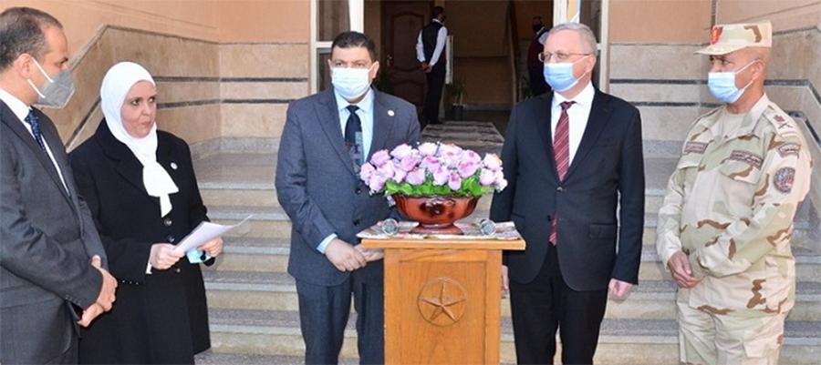 Посол РФ в Египте посетил строительную площадку АЭС Эль-Дабаа