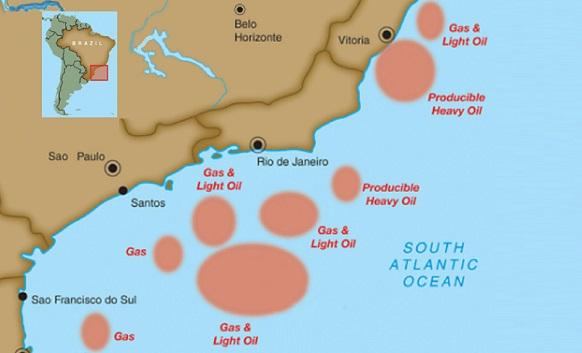 Нефть и газ Бразилии