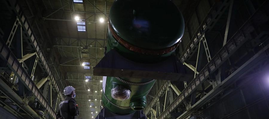 Атоммаш отгрузил комплект парогенераторов нового типа для Курской АЭС-2
