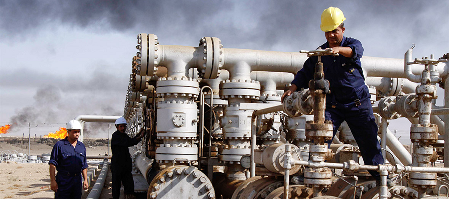 Iraq signed 4 major energy deals with French Total