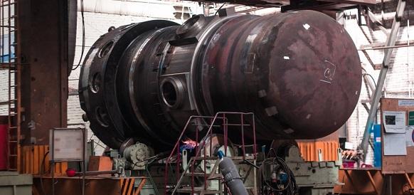 Атомэнергомаш завершил сварку корпуса 2-го реактора для ледокола нового поколения Урал
