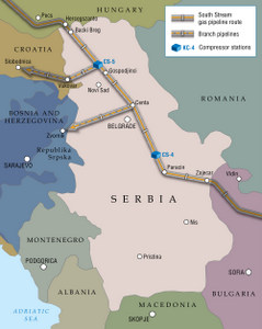 Construction of South Stream in Serbia to start before year end