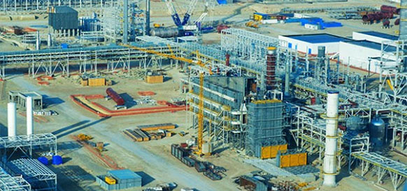 Туркменистан ускоряет развитие газохимии. На Гарабогазском ГХК активно ведутся пусконаладочные работы