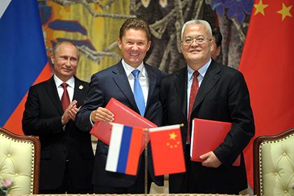 В.Путин: Контракт Газпрома с КНР окупится при большом рынке