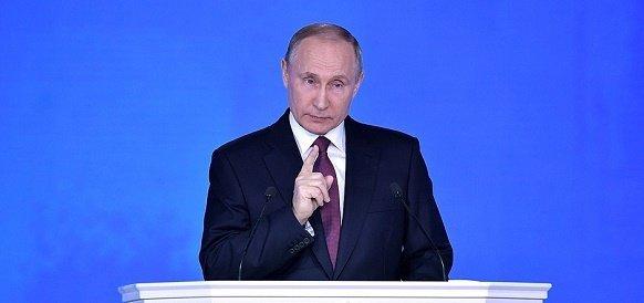 В. Путин в послании Федеральному собранию немножко побряцал оружием