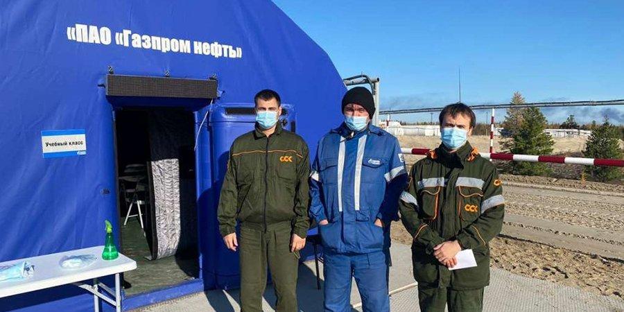 Работники Ямальского филиала ССК получили награды от «Газпромнефть-Заполярье»