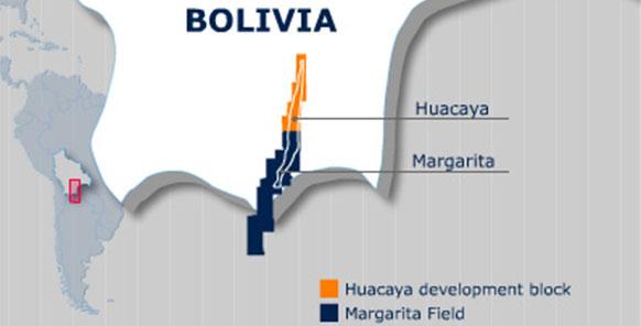 Новая скважина на месторождении Маргарита в Боливии может дать дебит 3 млн м3/сутки газа