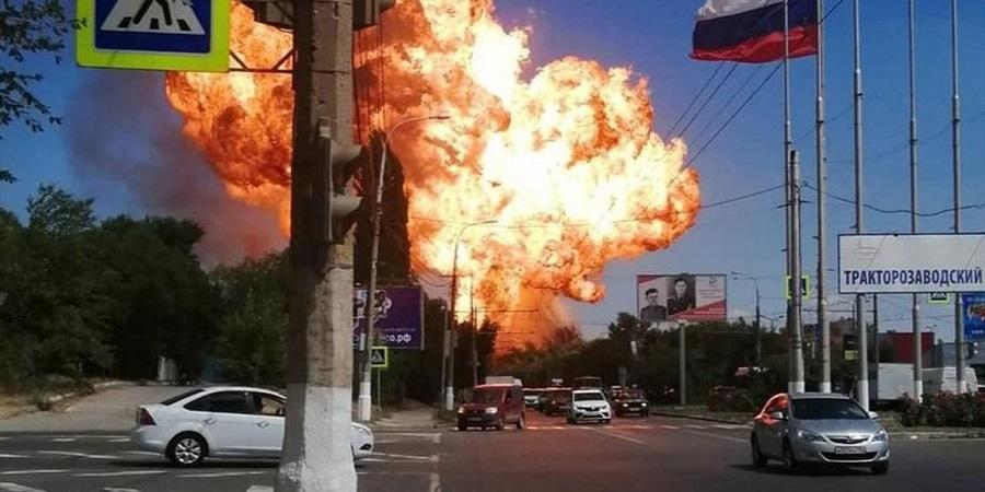 В Волгограде 4 человека пострадали при взрыве на АГЗС (ВИДЕО)