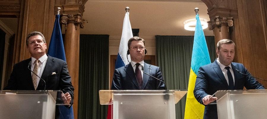 Кто уступил? В г. Берлине говорят о принципиальной договоренности по транзиту газа на встрече ЕС - РФ -Украина