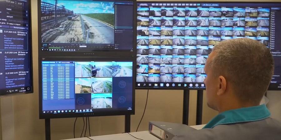 На Амурском ГПЗ установлена система видеонаблюдения для проведения таможенного контроля