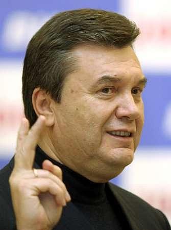 Виктор Янукович разыграл карту с российским газом