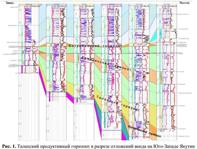 Проблемы оценки нефтегазоносности Талахского продуктивного горизонта венда на юго -западе Якутии