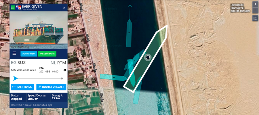Движение по Суэцкому каналу восстановили, но не полностью