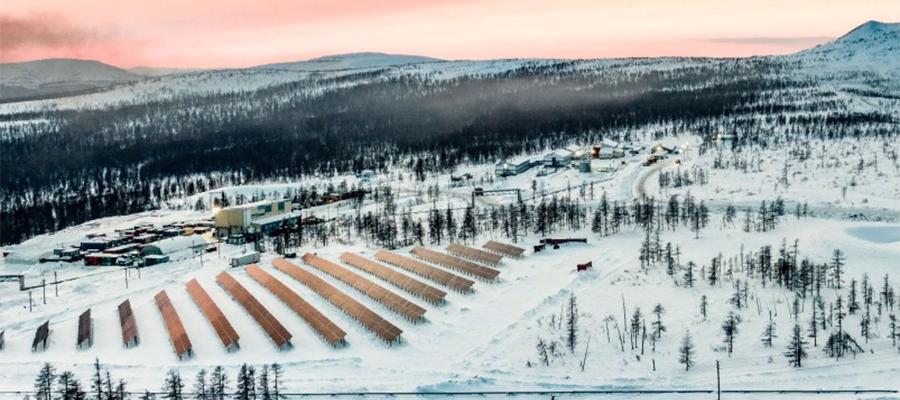 Золотое солнце. На месторождении Светлое в Хабаровском крае запущена солнечная электростанция