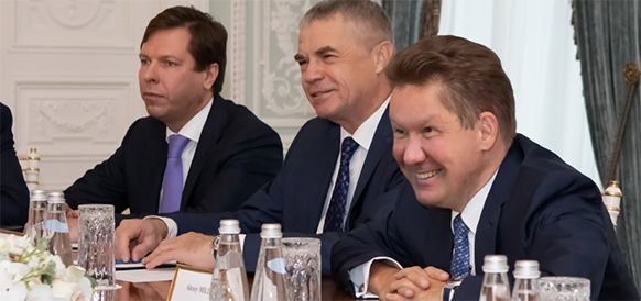 Gazprom discussed Baltic LNG project with Shell and gas supplies with SOCAR