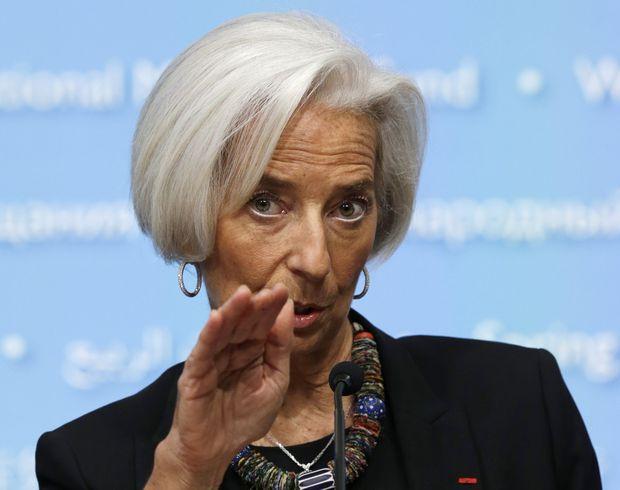 Глава МВФ Лагард: усилия Украины приведут к новому траншу