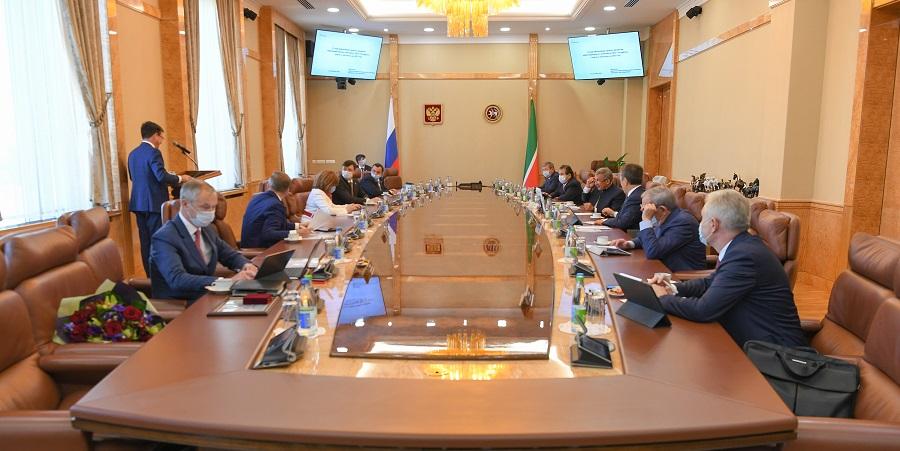 Р. Минниханов провел заседание совета директоров Татнефти