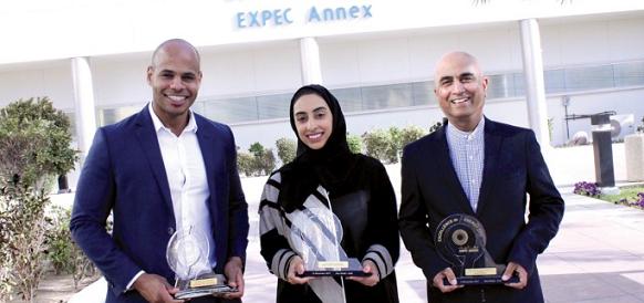 EXPEC ARC wins three awards at ADIPEC