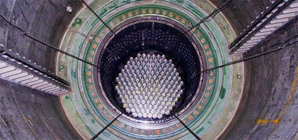 На Ленинградской АЭС-2 завершилась загрузка ядерного топлива в активную зону реактора 1-го энергоблока