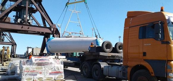 Японские ветроэнергетические установки доставлены в пос Тикси