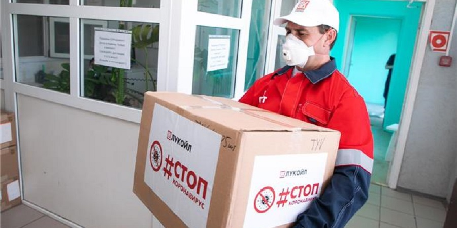 Lukoil delivered new consignment of medical equipment to Usinsk hospital