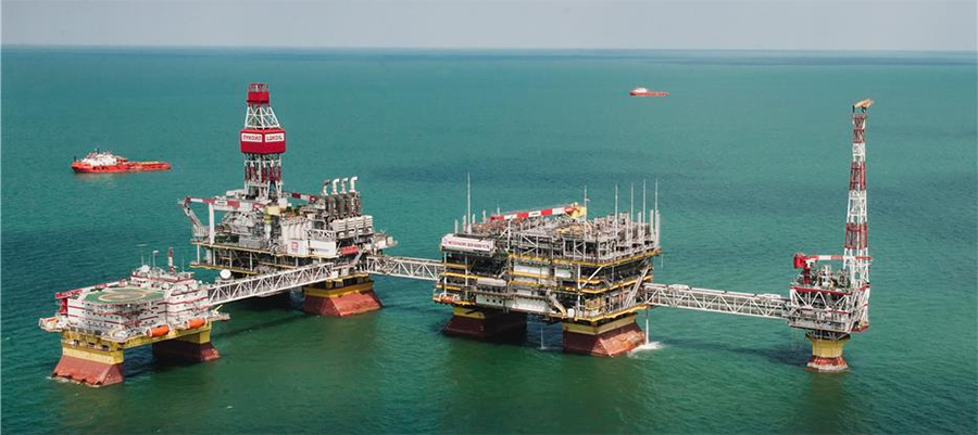 LUKOIL making good headway with priority projects in the Caspian sea