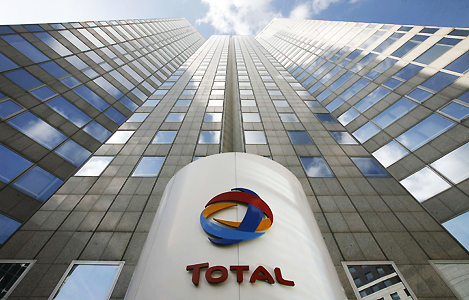 Total's profit falls even with production up