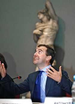 Дмитрий Медведев пообещал нефть за $140 за баррель