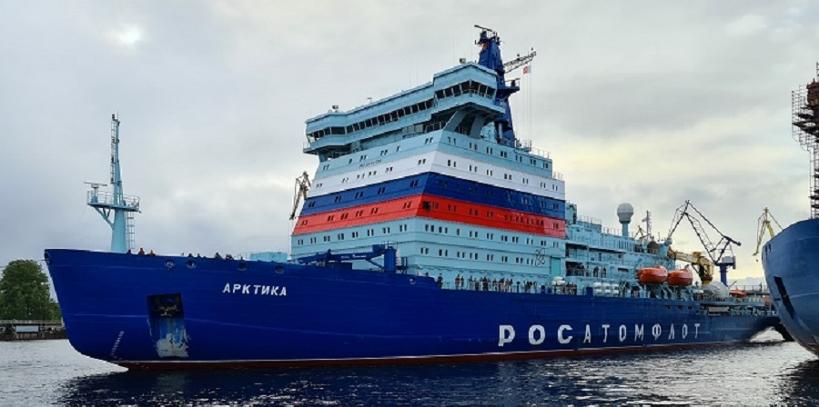 Rosatom: The 2nd stage of the lead universal nuclear icebreaker Arktika sea trials is completed