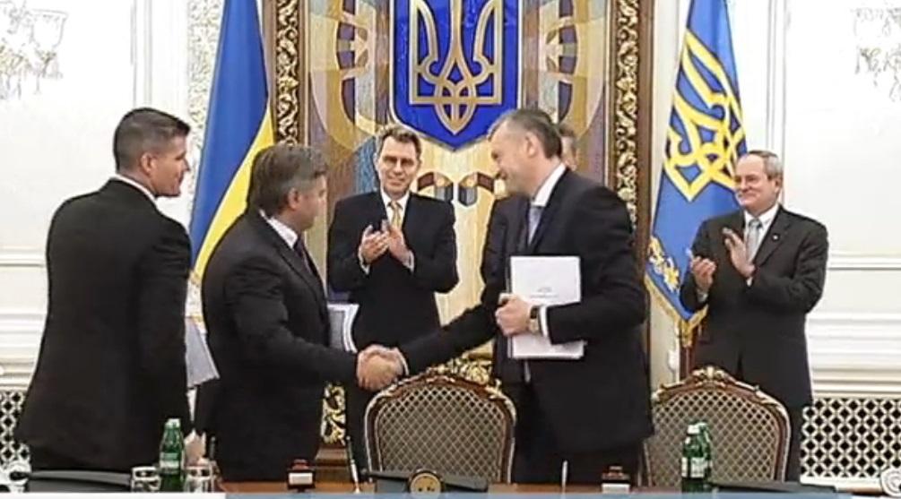 Э.Ставицкий: Украина и Chevron подписали долгожданное соглашение