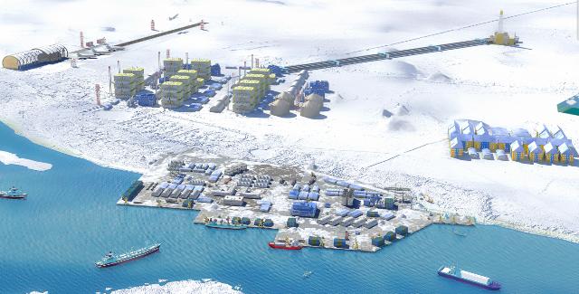 Из китайского порта Циндао в адрес проекта Ямал СПГ были отправлены 2 модуля по производству СПГ